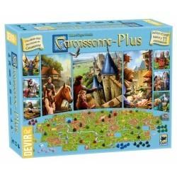 Juego Carcassonne PLus
