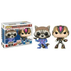 Funko marvel Rocket vs Mega...