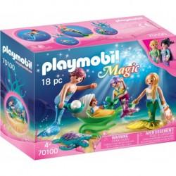 Playmobil Magic Familia con...