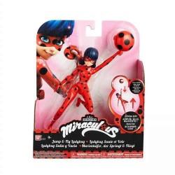 Muñeca Ladybug salta y vuela
