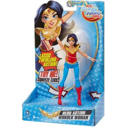 Wonder Woman con movimiento