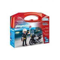 Maletin Policia Playmobil