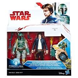 Star Wars han solo y Boba Fett