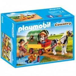 PLAYMOBIL PICNIC CON PONY Y...