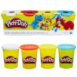 PLAYDOH PACK 4 BOTES...