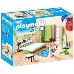 DORMITORIO CITY LIFE PLAYMOBIL